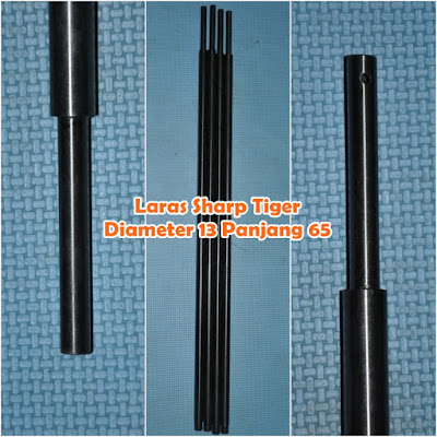 Jual Laras Baja Senapan Angin Sharp Tiger 13-65