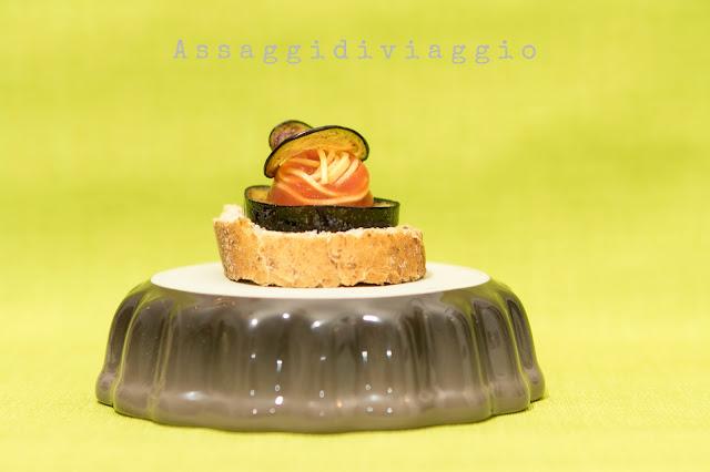 Motadito di pasta alla Norma - tapas di pasta
