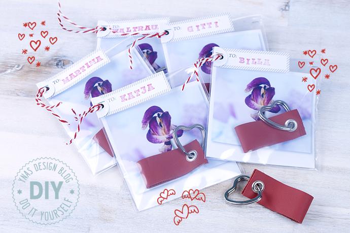 Ynas Design Blog | DIY | Valentinstagsgeschenk | Schlüsselanhänger für meine Mädels