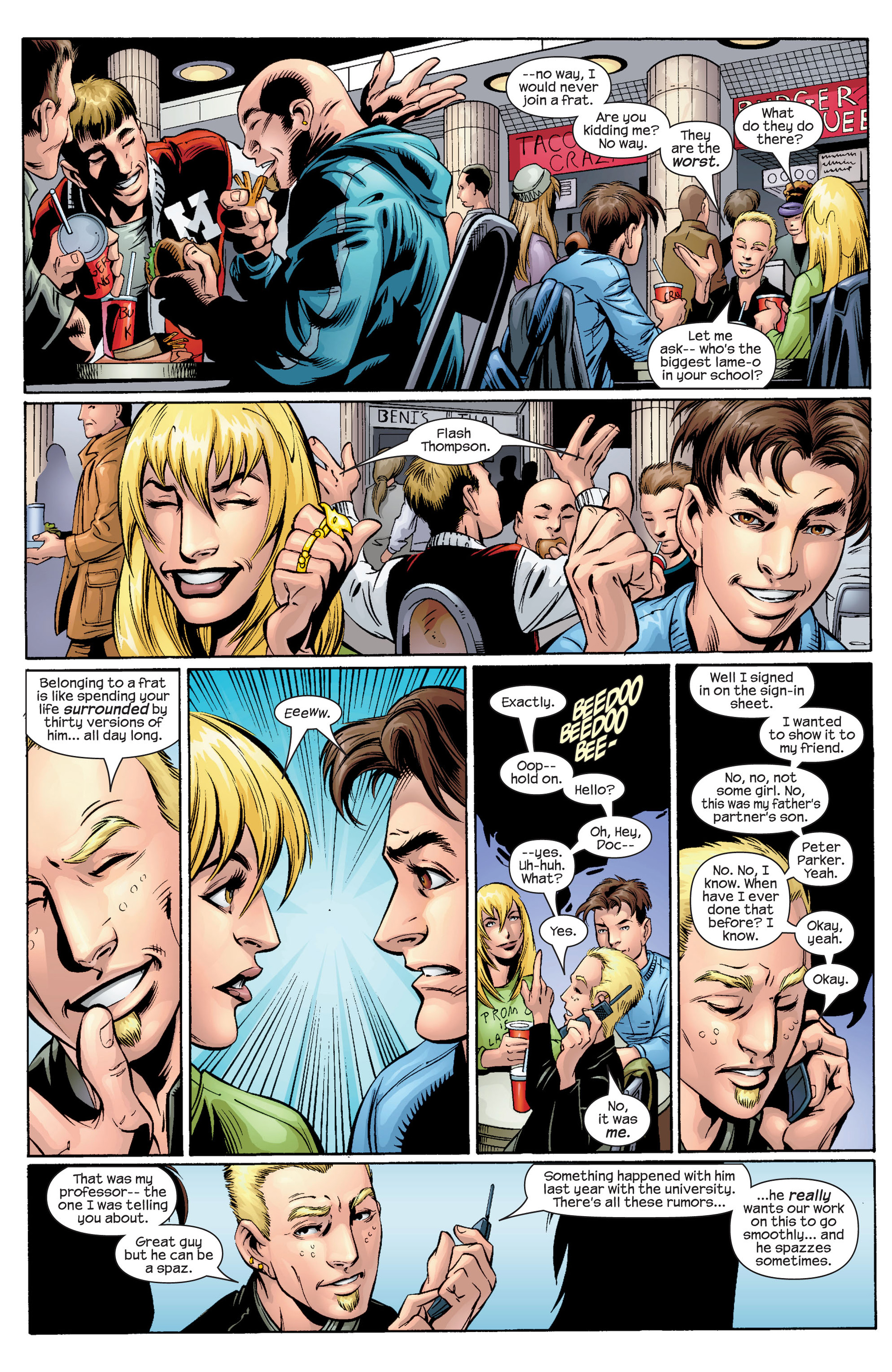 Read online Ultimate Spider-Man (2000) comic -  Issue #34 - 12