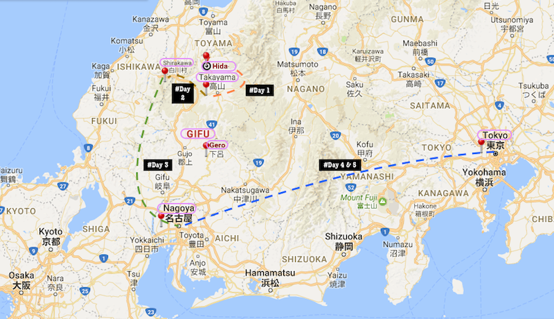 GIFU Your Name Movie Real Life Locations In Japan Gifu - Japan map gifu