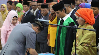 Wako Mukhlis Rahman Lantik 423 Pejabat