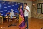 Nani and Keerhi Suresh at Facebook Office-thumbnail-16