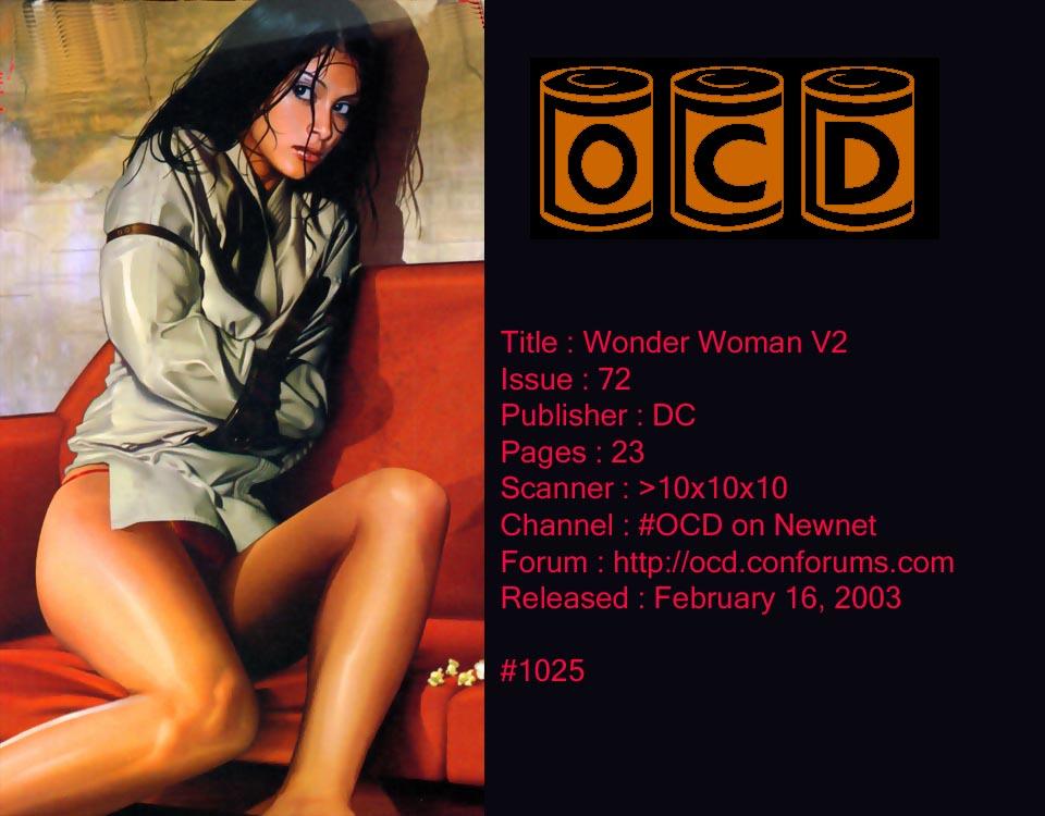 Read online Wonder Woman (1987) comic -  Issue #72 - 1