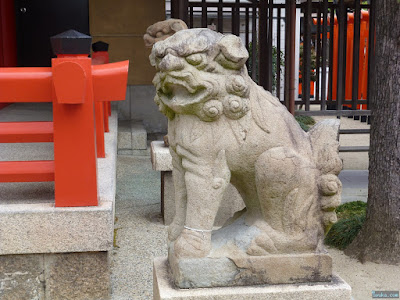 日吉神社狛犬