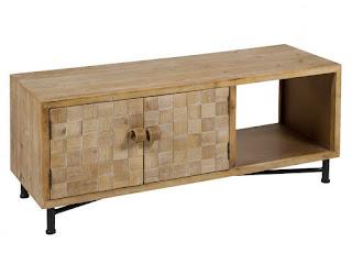 mueble television rustico decape actual
