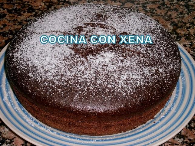 COCINA CON XENA Bizcocho con Nesquik extra de choco con TH Y GM E