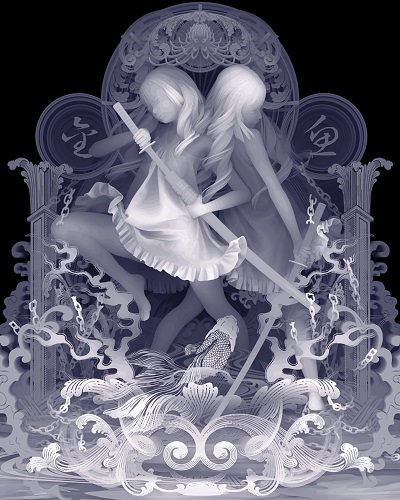 """BECAUSE WE LIVE FREELY"" by Kazuki Takamatsu - 2018 