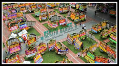 1.000 karangan bunga, balai kota, Jakarta, Ahok, Ahok Gubernur DKI, Fadli Zon, medsos, karangan bunga buat ahok, Kejadian, Berita Bebas, BeritaBebasX, Dalam Negeri,
