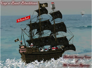 **2015 REVISITED** Tuesday Tails ~ The Extraordinary Voyages of Cap'n Basil Blackheart & His Motley Crew ~ Part X ©BionicBasil®