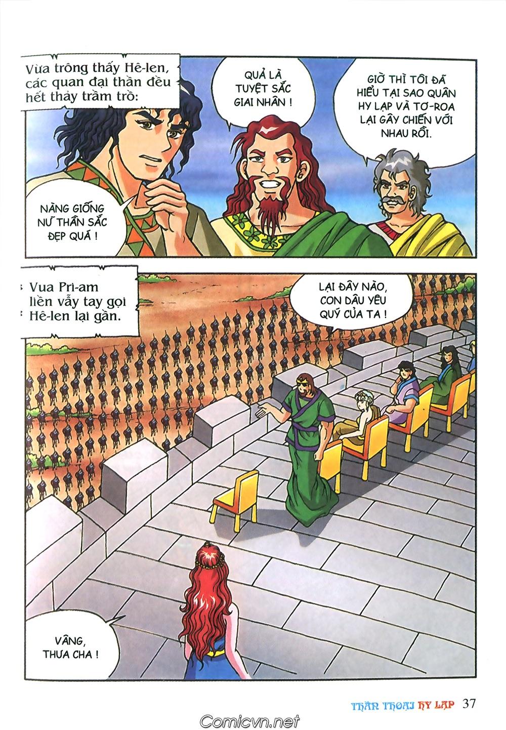 Thần Thoại Hy Lạp Màu - Chapter 57: Cuộc chiến định mệnh - Pic 34