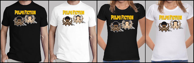 Camiseta PULPO FICTION