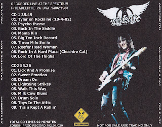 Aerosmith Bootlegs Cover Arts Valentine S Day