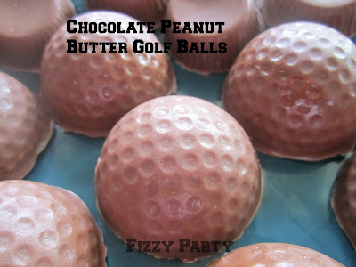 Retirement party, Golf party, homemade chocolates