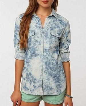 Acid washed shirt