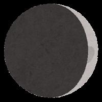 月の満ち欠けのイラスト8