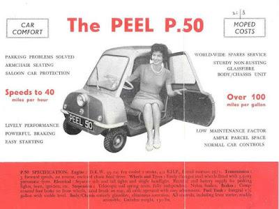 The Peel P.50