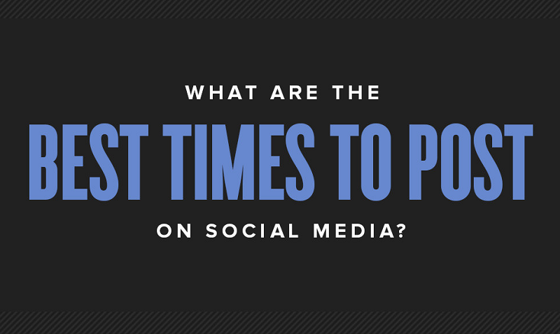 When is The Best Times to update your Social Media Accounts - social media marketing tips