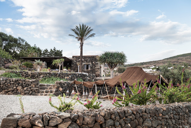 Ancient dammuso on Pantelleria island