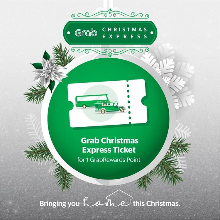 Grab Intros Christmas Express Jeepneys, P2P Buses