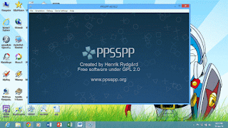 Tampilan PPSSPP Windows