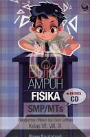 BUKU AMPUH FISIKA SMP/MTS + CD Murah