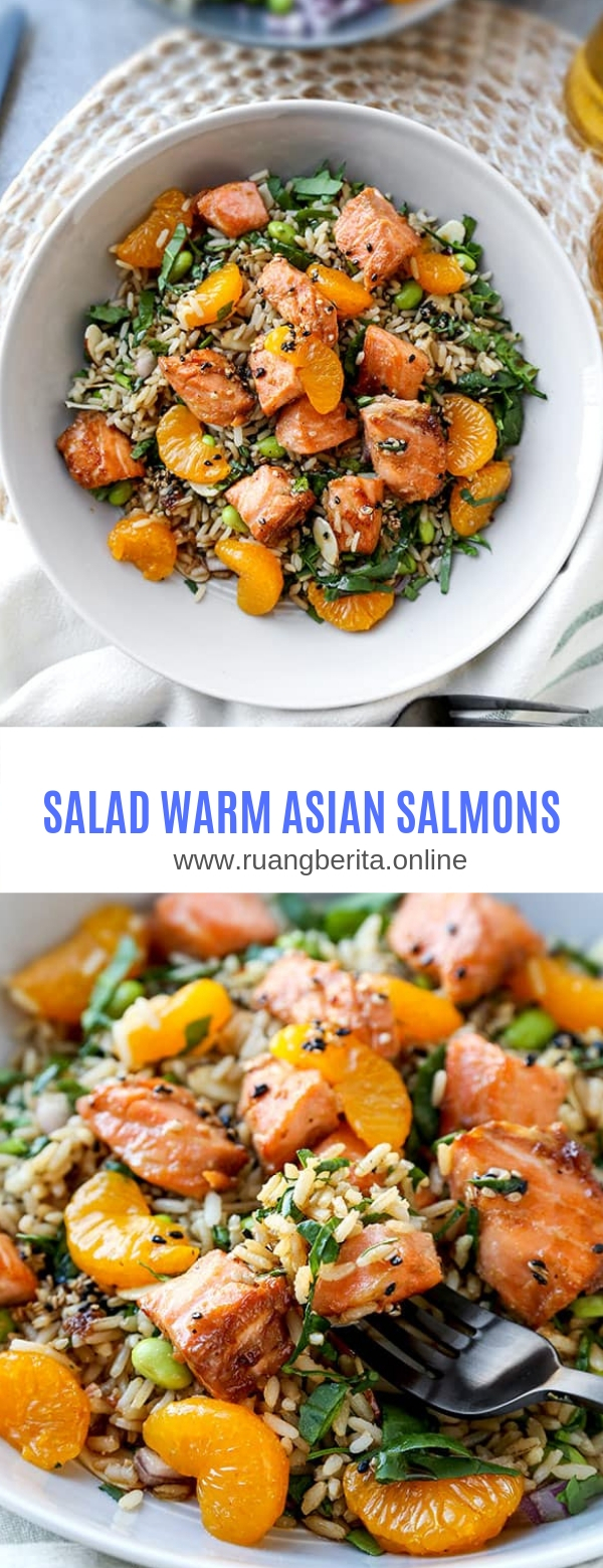 SALAD WARM ASIAN SALMON