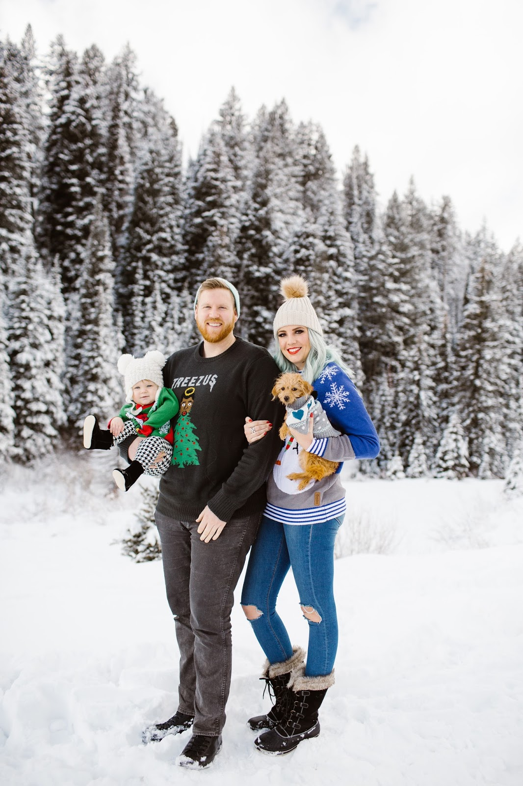 Winter Family Photos Photo Ideas Christmas Sweaters
