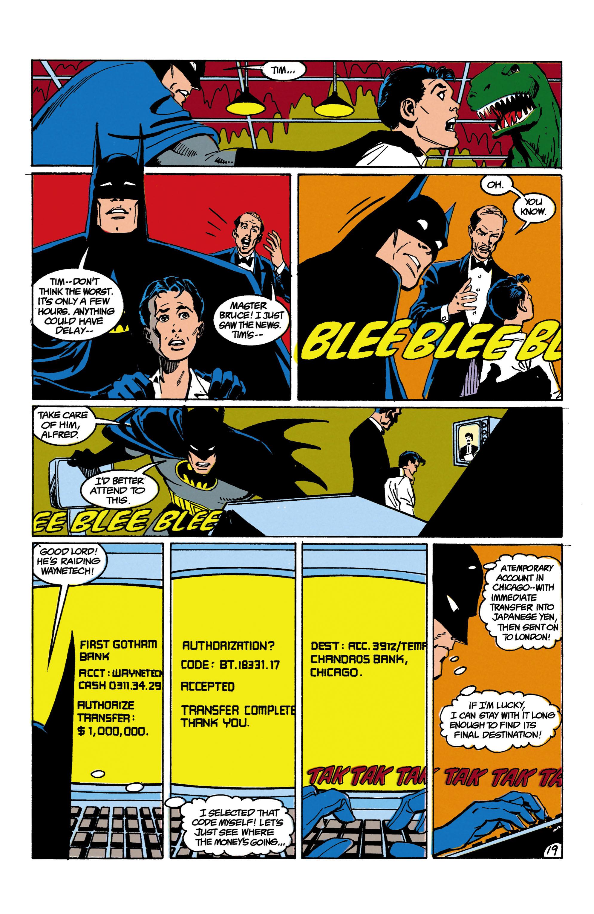 Detective Comics (1937) 618 Page 19