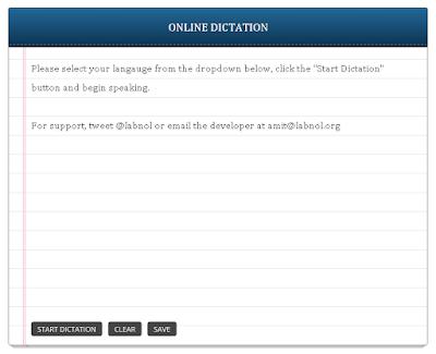 Dictatiom, Online Dictation