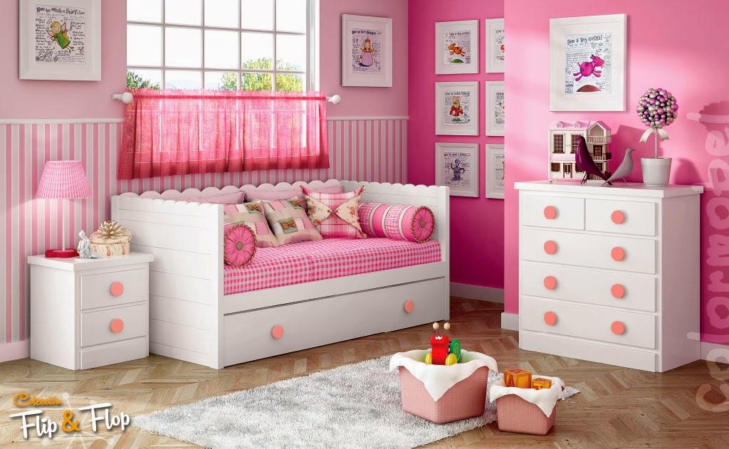 Decorar dormitorio nia finest cuartos juveniles with for Decoracion cuarto infantil nina