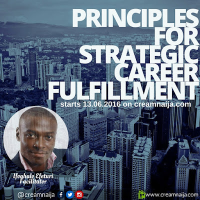 The Role of your Passion and Dreams in your Career Fulfillment- Ifoghale Efeturi