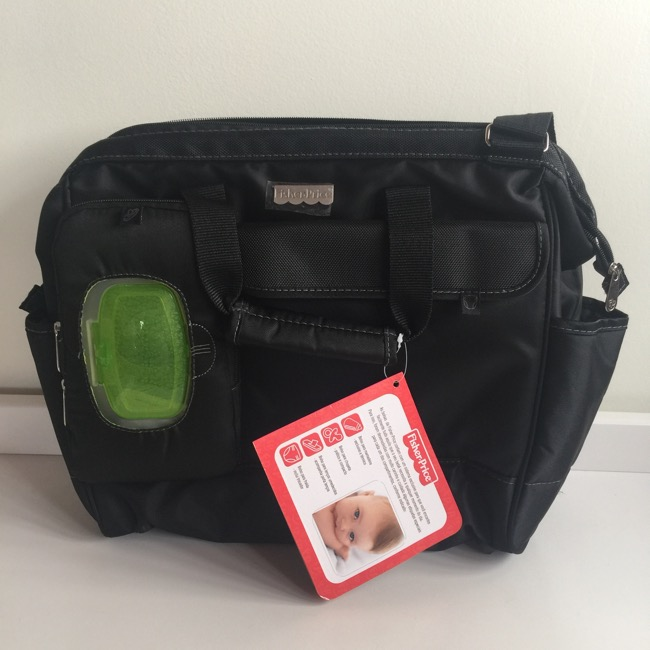Bolsa Diaper Bag Wide Opening de Fisher-Price