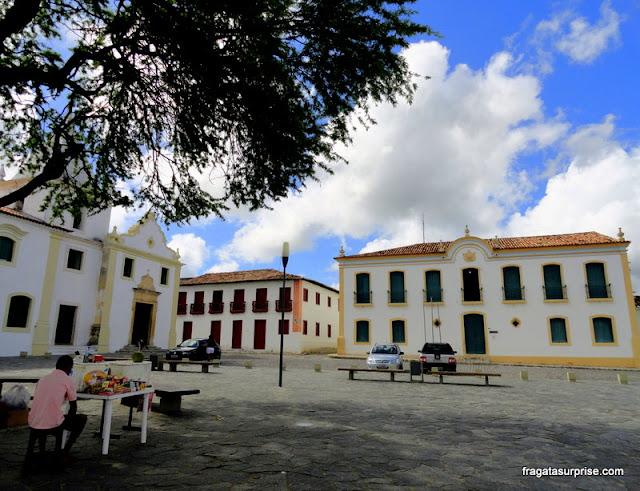 Lar Imaculada Conceição e Museu Histórico de Sergipe, em São Cristóvão