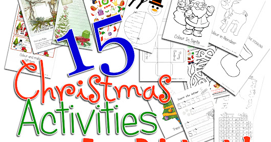 Free Childrens Christmas Activities