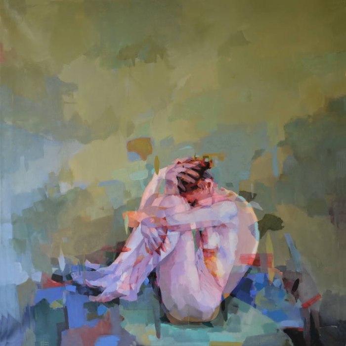 Психологически заряженные картины. Melinda Matyas