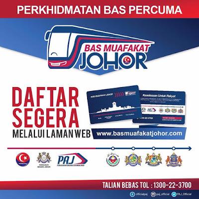 Bas percuma Muafakat Johor Online