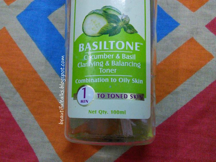 Lotus Herbals Basiltone Clarifying & Balancing Toner