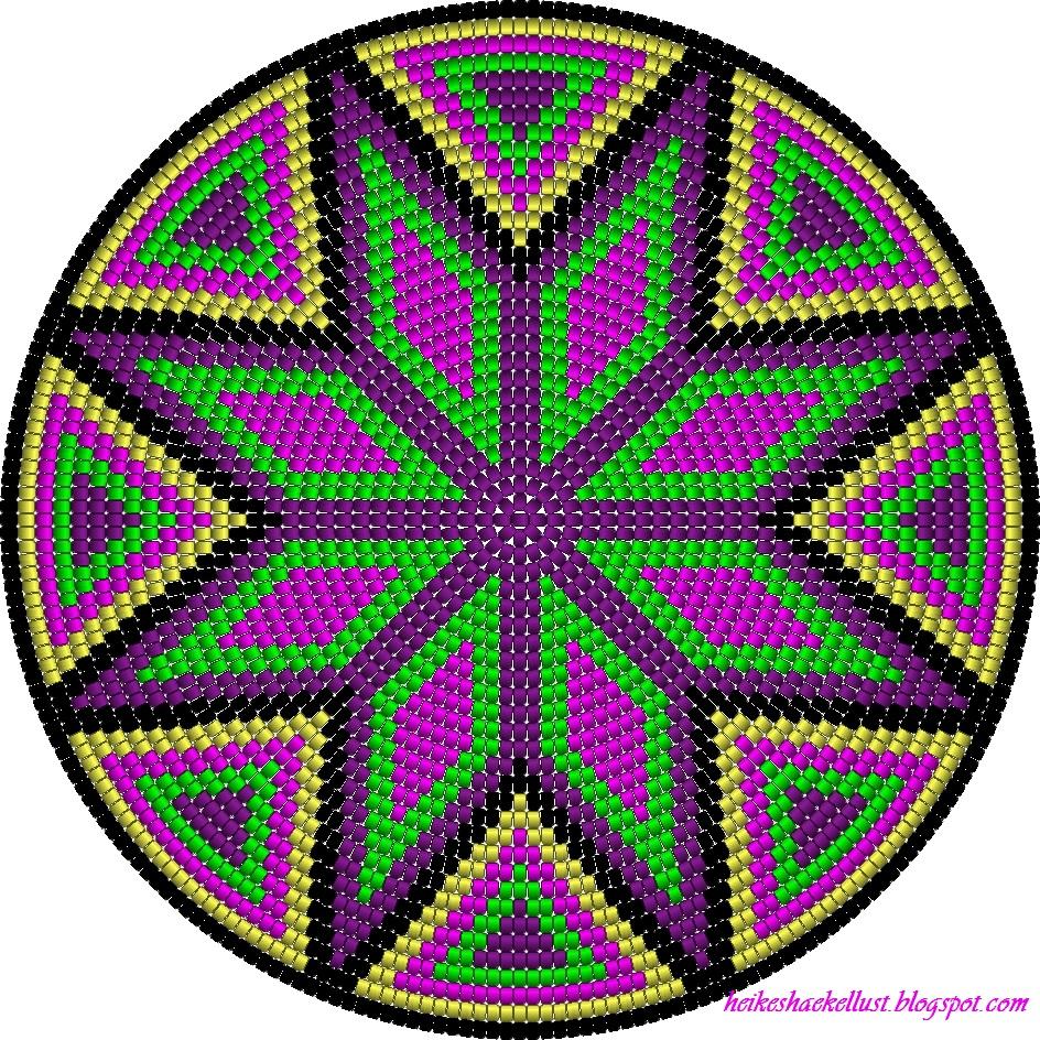 dieses muster habe ich mir mit dem programm easybeadpatterns entworfen da ich ja eine tasche hkeln mchte nach der art der wayuu mochila bag brauchte ich - Muster Hakeln