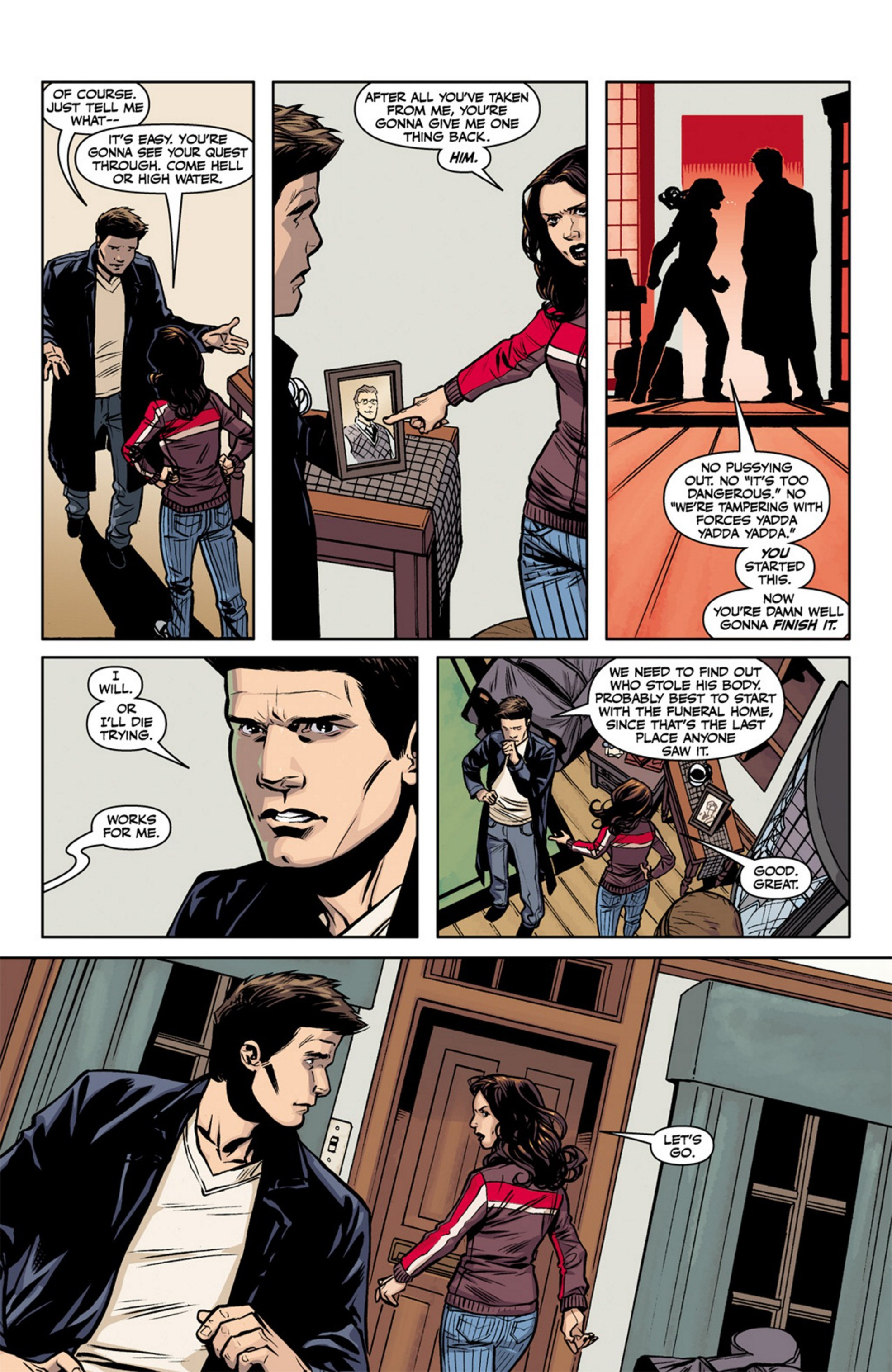 Read online Angel and Faith comic -  Issue #17 - 9