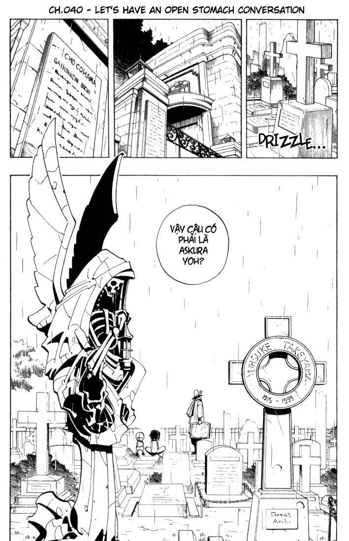 Shaman King [Vua pháp thuật] chap 40 trang 2