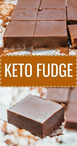 Super Easy Keto Fudge Recipe