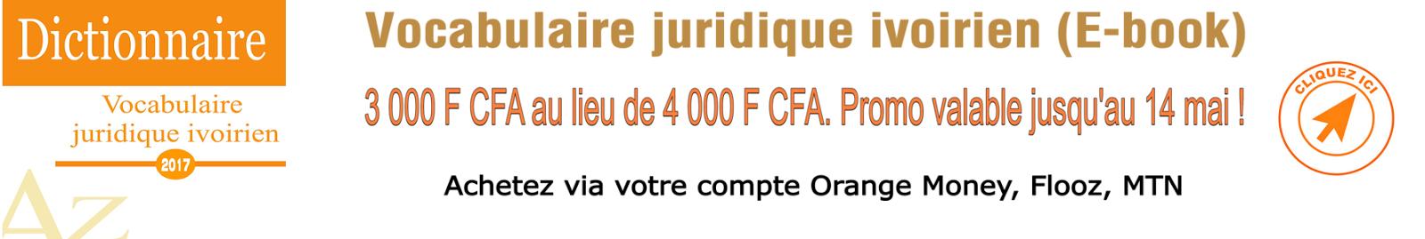 lexique juridique ivoirien PDF