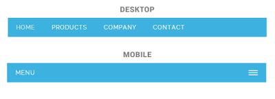 keren untuk blogger menu responsive