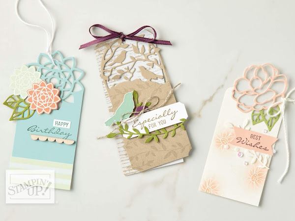 Stampin' Up! Watch It Wednesday - Bouquet Blooms Bundle by Stampin' Up!