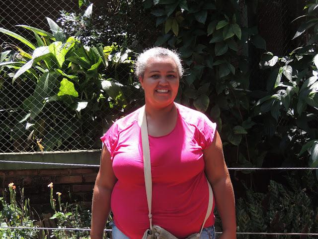 Visitante no Zoológico de Bauru