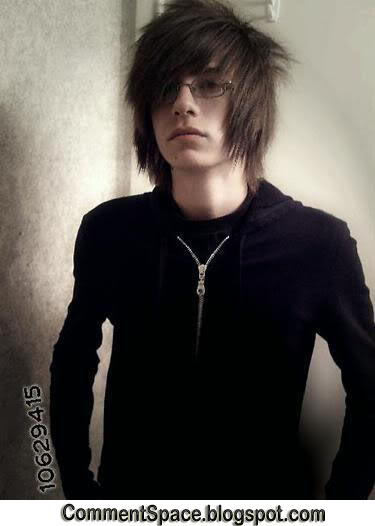 emo hairstyles part 4