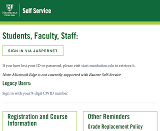 New Self Service Service Page