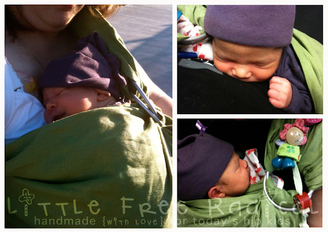 3f1cf8b50b4 I loved my ring sling in the early months! As a newborn