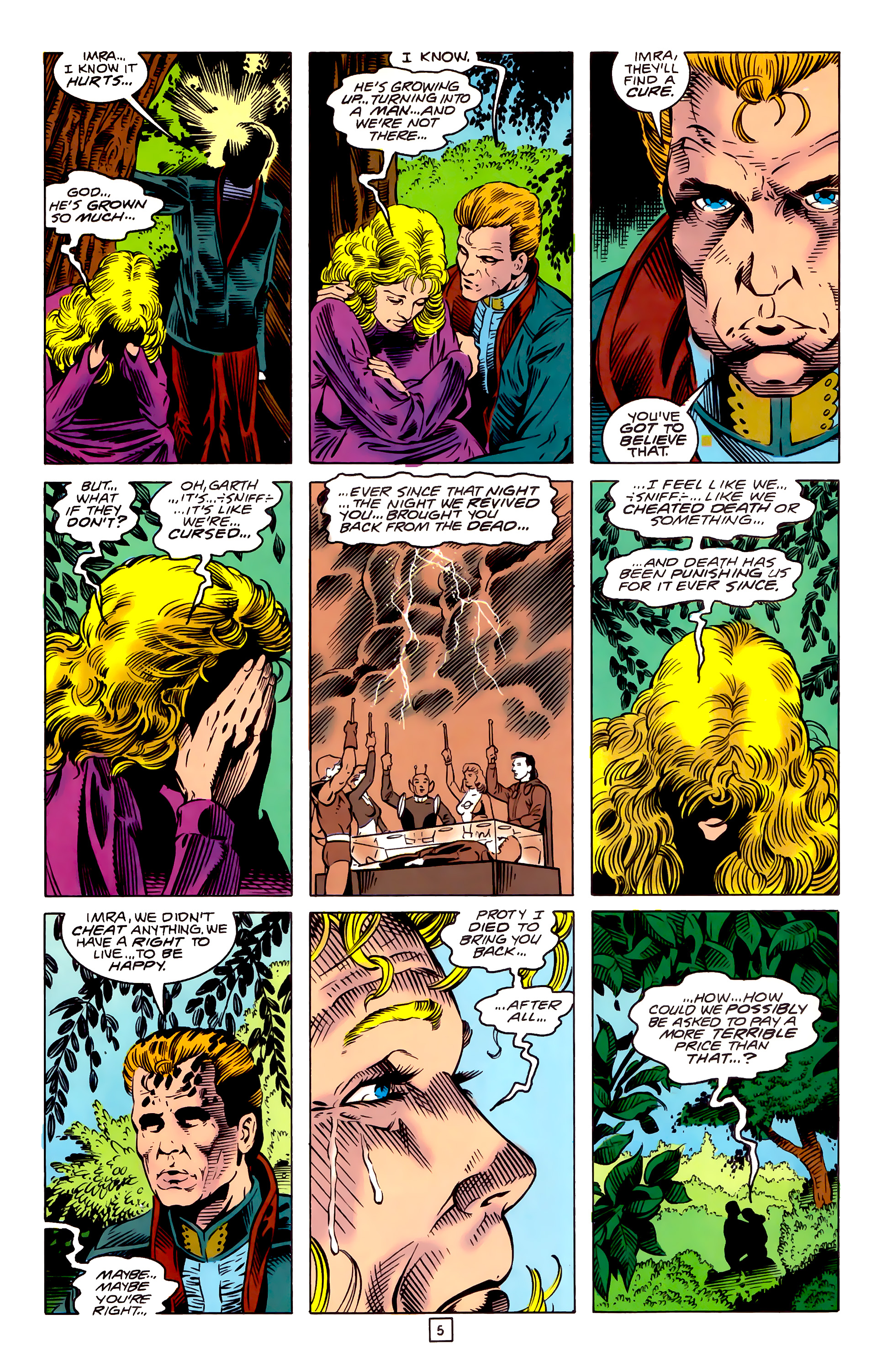 Legion of Super-Heroes (1989) _Annual_3 Page 32